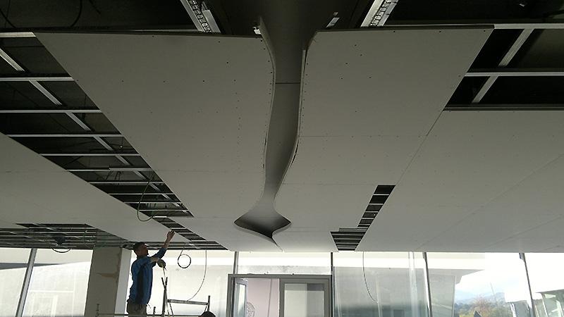 Lavori in cartongesso cortona controsoffitti pareti for Immagini di controsoffitti in cartongesso per soggiorni