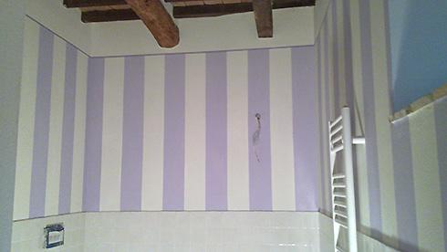 Imbiancatura e tinteggiatura a Cortona, Arezzo  Decorazioni pareti ditta Adrian Marinica